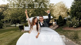 Reacting to our Wedding Day One Year Later!
