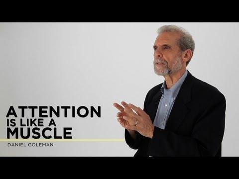 Daniel Goleman: Attention is Like a Muscle