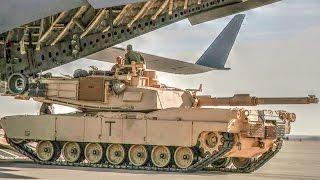 C-17 Globemaster III Loading M1A1 ABRAMS Tank
