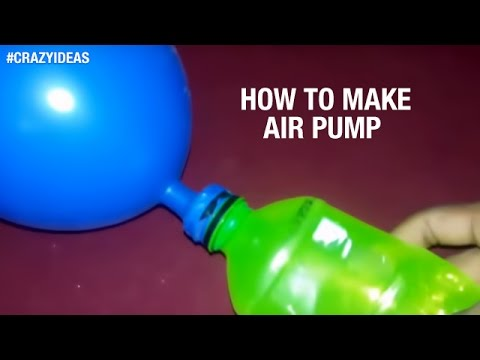 How to Make Air Pump Using Plastic Bottle | Life Hacks | Crazy Ideas