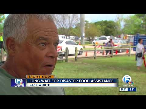 Long lines again on Day 2 of SNAP food assistance sign up sites in Palm Beach County