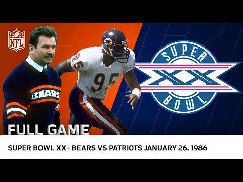 Xxx Mp4 39 85 Bears Win Super Bowl XX Bears Vs Patriots NFL Full Game 3gp Sex