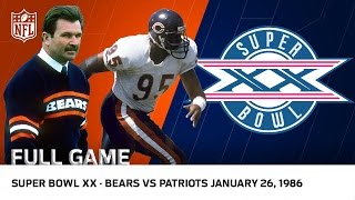 Download '85 Bears Win Super Bowl XX | Bears vs. Patriots | NFL Full Game Video