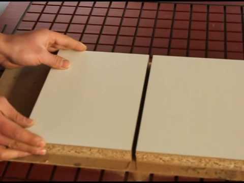 cutting Melamine veneer particleboard