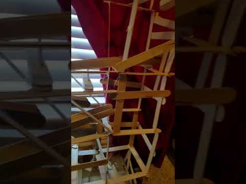 Greatest popsicle stick rollercoaster ever