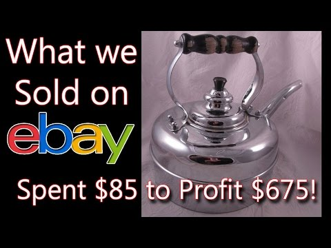 What Sold on ebay - See what I Spent $85 on & Profited $675! - Dorky Thrifters Fulltime RV Family