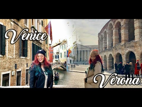 🇮🇹Venice & Verona, ITALY |  Top Attractions  or What to See & Do | TRAVEL VLOG