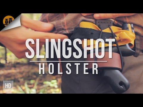 DIY Leather Slingshot Holster