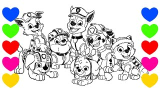 Desenho Da Patrulha Canina Chase Paw Patrol Colorir Online Classes
