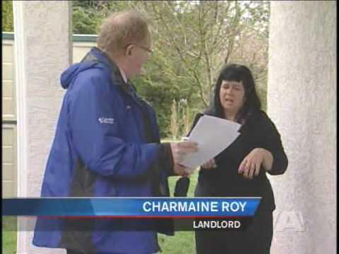 Landlord arrested