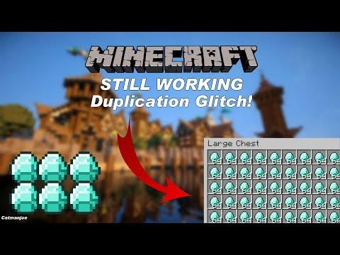 Minecraft Xbox / PS - TU64 - DUPLICATION GLITCH - TUTORIAL - WORKS ON MULTIPLAYER + EASY (TU64)