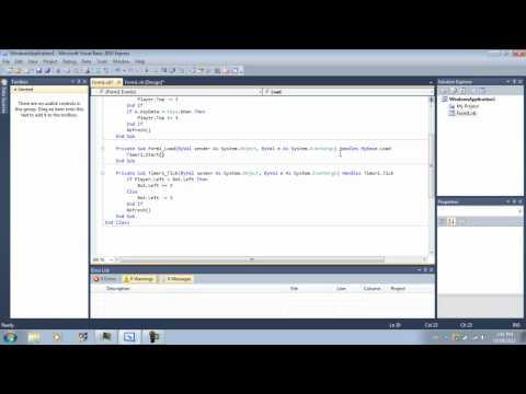Visual Basic Game Tutorial 3: Bot AI