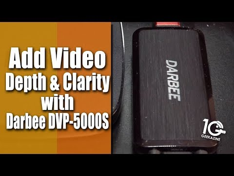 Darbee DVP 5000S Adds Depth and Clarity to HDMI Video