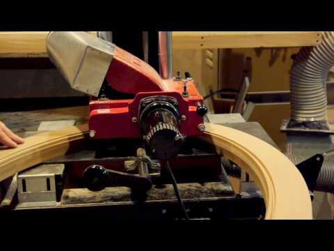 DIY Beading an Oval Frame on a Williams & Hussey Molder