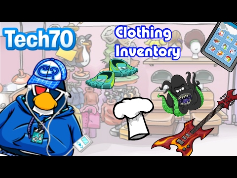 Tech70's Archive: My Entire Clothing Inventory