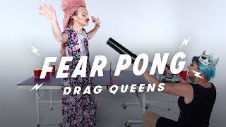 Drag Queens Play Fear Pong  (Strawberry Shartcake vs. Isabella Extynn)