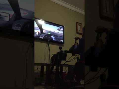 DJ Arch Jnr learning how to drive a manual car on Project Cars using PS4