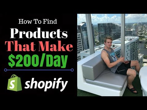 How To Find $200/Day Products & Market Them (Shopify Dropshipping)