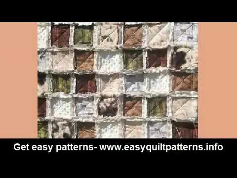 quilt making for beginners rag quilt layout