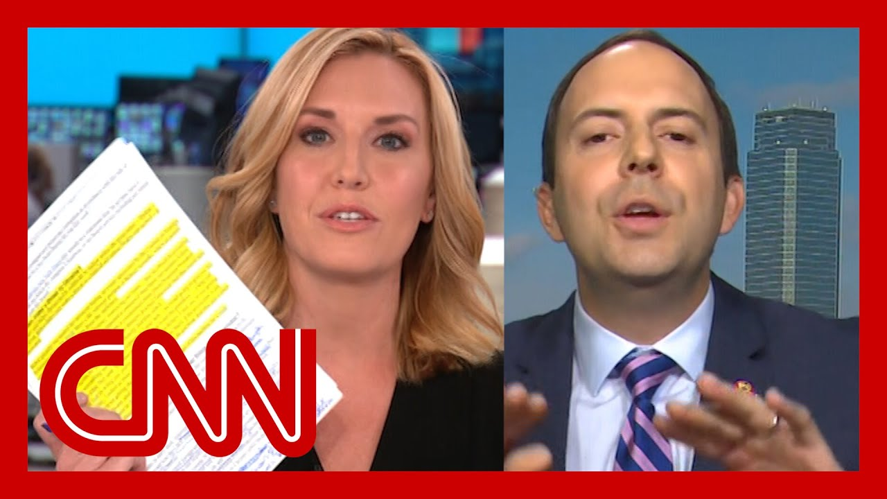 See lawmaker's reaction when Poppy Harlow calls him out for tweet