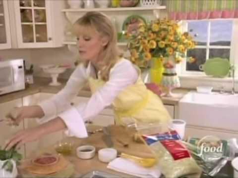 Sandra Lee - Crab Salad with Mango Salsa