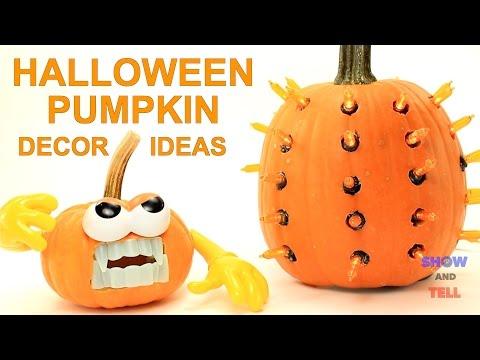 Halloween Pumpkin Decorating Tips, Tricks and Ideas