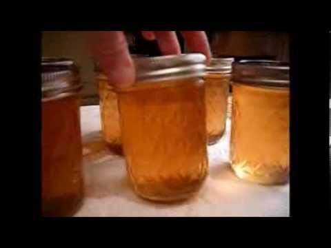 FOOD STORAGE - Canning Peach Syrup & Peach Jelly