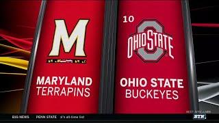 Maryland at Ohio State - Football Highlights