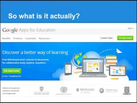 1 Introduction to Google Apps