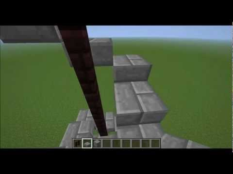 How to make an awesome winding 3X3 Minecraft Staircase!