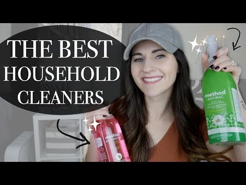 MY FAVOURITE CLEANING PRODUCTS 2018 || BETHANY FONTAINE