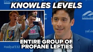BEHOLD, YOUR COUNTRY: Knowles levels entire group of profane lefties