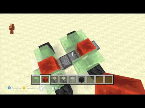 How to build a working car in Minecraft Xbox 360/Xbox One/PS3/PS4