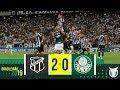 CEARÁ 2 x 0 PALMEIRAS - Melhores Momentos - BRASILEIRÃO 2019 (20/07/19)