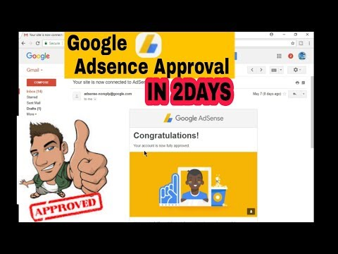 How To Approve Adsense In Just 2 Days. (With Proof)