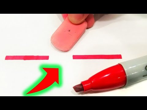 HOW TO ERASE ANYTHING!!