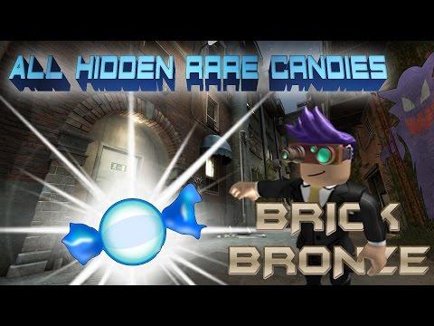 Roblox: Pokemon Brick Bronze - All Rare Candy Locations Anthian City!