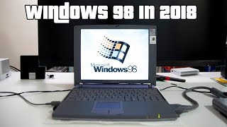 Windows 98 in 2018