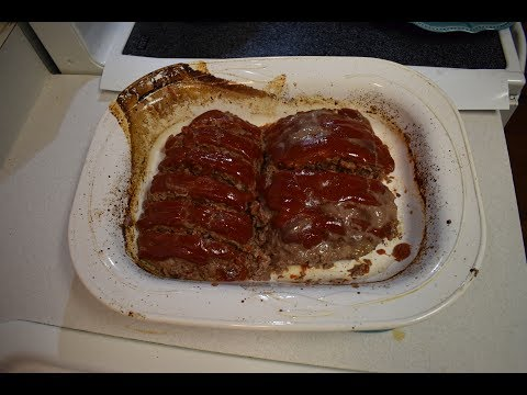 Meatloaf & Tomato Gravy