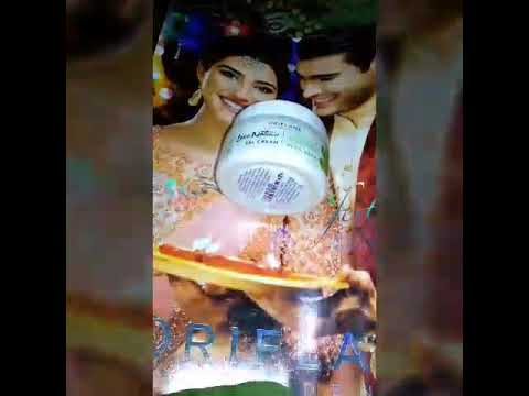 Oriflame sweden love nature aloevera cream 100%honest review/ best aloevera cream in India 😋😋😋😍