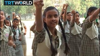 India Rape Case: Indian girls learn to defend themselves