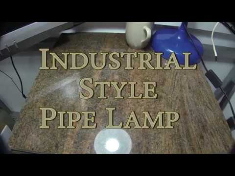DIY Industrial Style Pipe Lamp