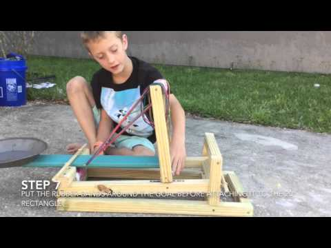 How To Make A Toy Catapult