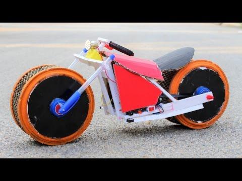 How To Make a Bike - Motorcycle Bike