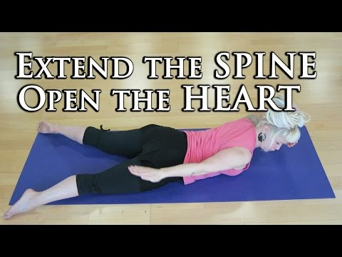 Spine Extension Exercises for Weak Back