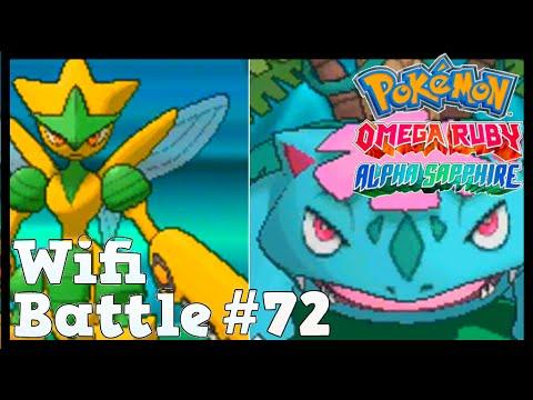 Pokemon ORAS / X&Y Wifi Battle #72: Mega Venusaur vs Mega Scizor (Omega Ruby & Alpha Sapphire)