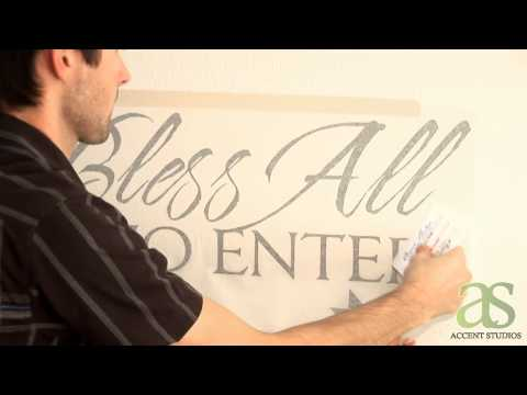 Wall Decals: How To Apply a Wall Decal - Accent Studios Wall Decals
