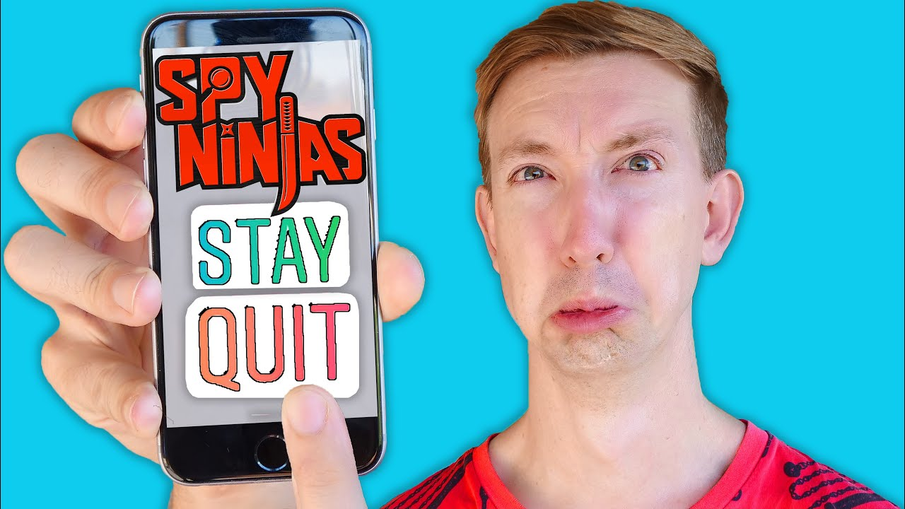 WHAT IF SPY NINJAS QUIT? Regina Last Name Reveal and Fun YouTuber Challenges IRL!