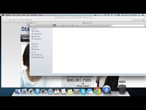 Mac Guide on Using Stacks in OSX Mountain Lion