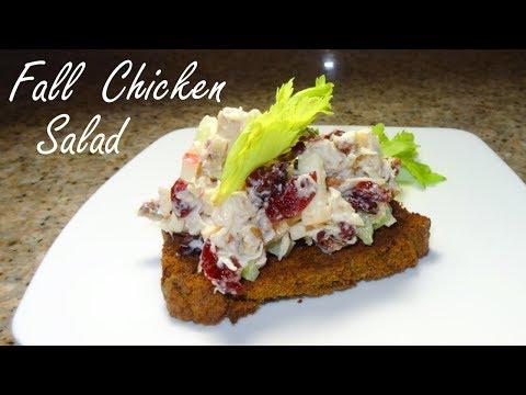 Fall Chicken  Salad